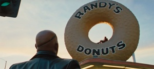Sir, I'm going to have to ask you to exit the donut
